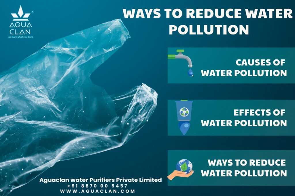 Ways to reduce water pollution
